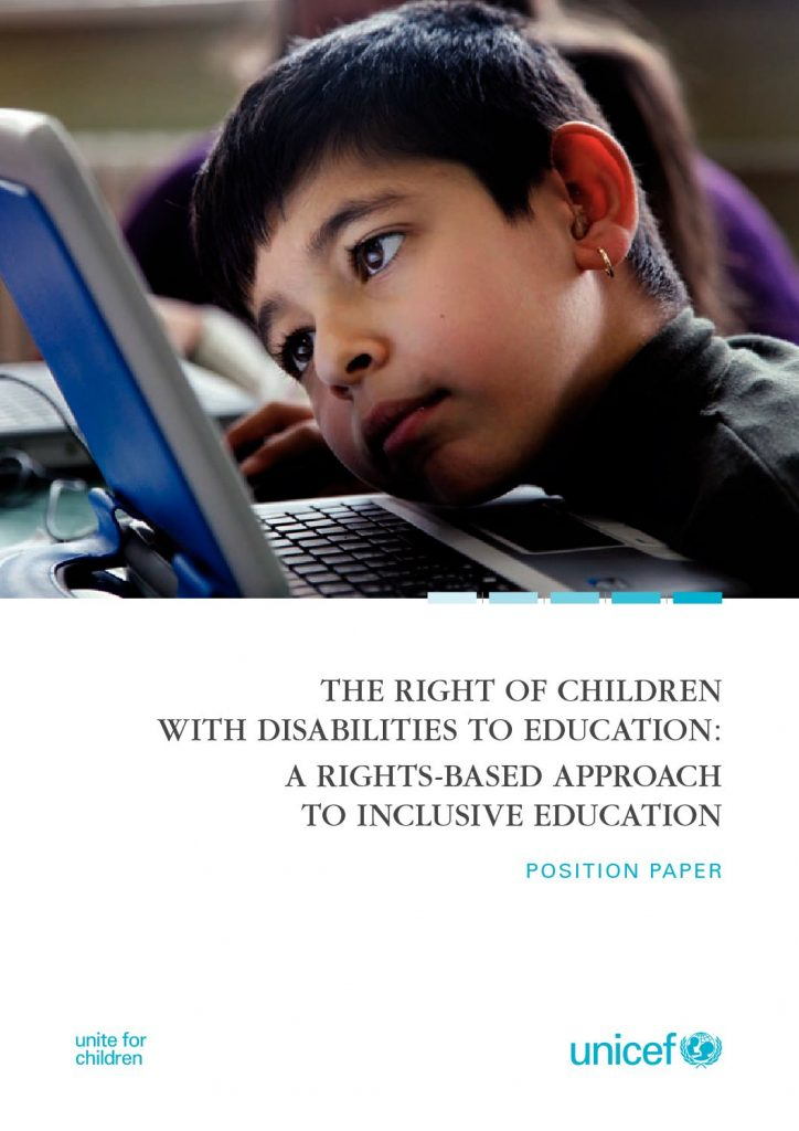 unicef article children with disabilities